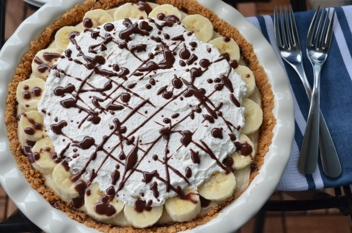 Easy as banana cream pie