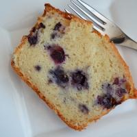 Lemon Blueberry Ricotta Pound Cake